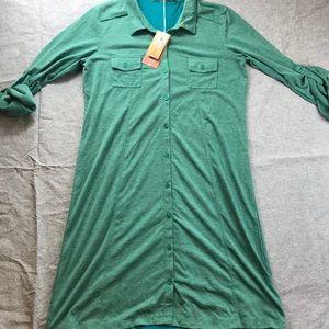Prana NWT shirt dress